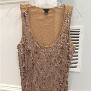 Ann Taylor Tops - Ann Taylor Sequined Tank Top
